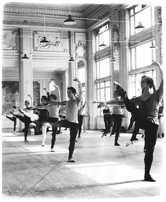 Harkness Foundation for Dance homepage image