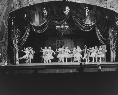 From the Archive: Harkness Ballet Theater Proscenium